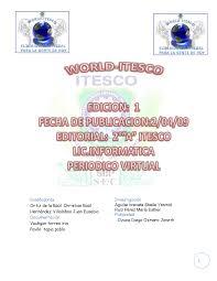 WORLD-ITESCO by JUAN ROUSE CREU - issuu