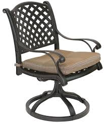 outdoor swivel dining chairs. Nassau Outdoor Patio 7pc Dining Set With Series 5000 71\ Swivel Chairs