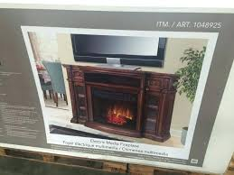 fireplace tv stand costco electric fireplace