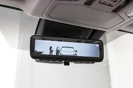 2019 Toyota RAV4 rear view mirror camera - MotorTrend