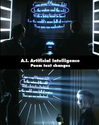 A.I. Artificial Intelligence questions and answers