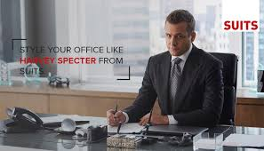 suits office. Office Interior Styling For The Harvey Specter Look | Suits A