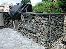 appealing outdoor stone grill kitchen grills