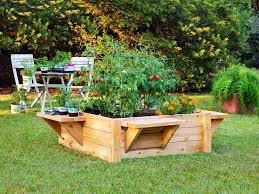 raised beds garden design