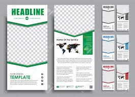 Flyer Template For Pages Design White Narrow Flyers Templates 2 Pages In 4 Color Versions