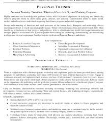 Dog Trainer Resume Personal Trainer Cover Letter Personal Trainer Cover Letter Sample