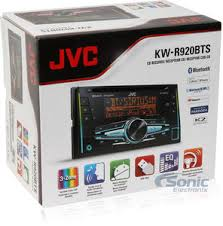 jvc kw r920bts double din bluetooth in dash car stereo product jvc kw r920bts kit harness most cars