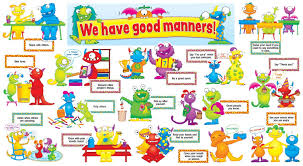 Good Manners Chart For Class 1 Kinder Planet Pre School Manners For Kids Good Manners