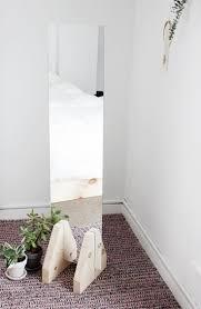 DIY Minimal Floor Mirror