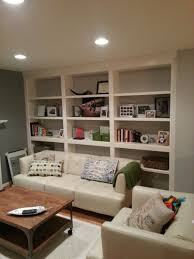 Built In Wall Shelves Hand Crafted Built In Bookshelves With Adjustable Shelves By Parz