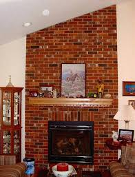 wall colors that go with red brick fireplace brick fireplace my husband loves our ugly brick wall colors that go with red brick fireplace