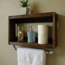Terrific Beautiful Charming Bathroom Wall Cabinets With Towel Bar Of
