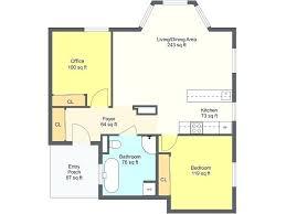 3 Bedroom Open Floor House Plans Creative Design Impressive Decorating Design