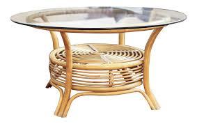 small glass rattan coffee table rotating glass rattan and glass coffee table with additional rattan