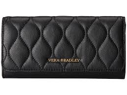 Vera bradley Quilted Audrey Wallet in Black | Lyst & Gallery Adamdwight.com