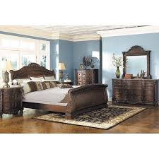 North Shore 5 Piece Bedroom Set B553 5PCSET Ashley Furniture