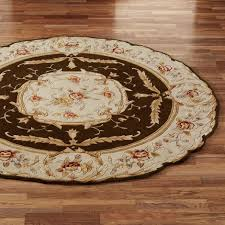 cool 6 ft round area rugs 50 photos home improvement photo 1 of 7 rose aubusson sculpted round area rugs good 6 foot round area rugs
