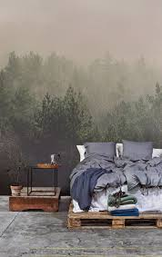 Amidst The Mist Wall Mural Muralswallpapercouk Bedroom