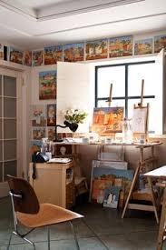 labelle mariposa nice art studio i especially like the ledge around the top of artists studio lighting