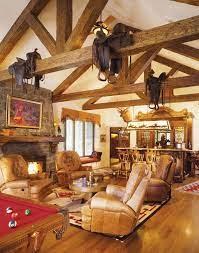 saddles western living room decor