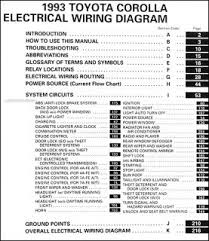 1993 toyota pickup radio wiring diagram images pin 1994 toyota corolla wiring diagram