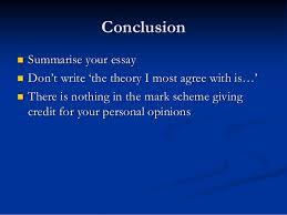 writing a sociology essay conclusion  summarise your essay