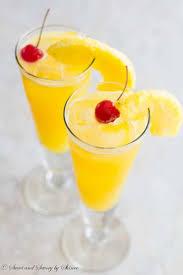 pineapple coconut spritzer sweet savory