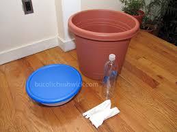 standard planter to self watering planter