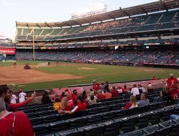 Angel Stadium Of Anaheim Section 110 Seat Views Seatgeek