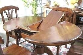 perks table leaf latch antique round oak dining with leaves designs hardware