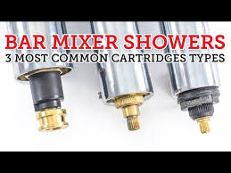 bar mixer showers 3 most common cartridge types how to replace them you