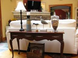 Graceful Sofa Table Decor Ideas For Remarkable Classic Design