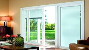 sliding patio door blinds curtains how to install plantation vertical outside mount ng