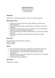 Employer 6 Dental Assistant Resume Sample Top 8 Pediatric Intended
