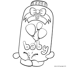 Limited Edition Shopkins Coloring Pages