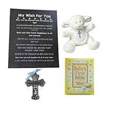 bigdream catholic baptism gift for baby boy blue cross