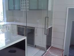 frameless glass sliding system