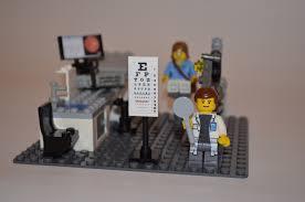 lego office. optometry office lego