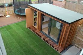 outside office shed. Outside Office Shed. Garden Room With Storage Shed I E