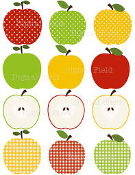 green and red apples clipart. red apple green and yellow border clip art apples clipart