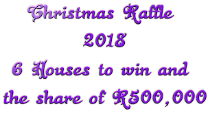 Results Of The National Lottery Christmas Raffle 2018