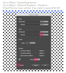 Illustrator Pattern Fill Custom Create A Halftone Texture Pattern In Illustrator Veerle's Blog 4848