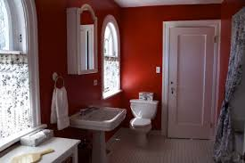 red bathroom color ideas. 6 Outstanding Bathroom Color Schemes With Red Picture Ideas