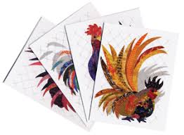 That Radical Rooster Quilt Patterns by designer Florine Johnson ... & That Radical Rooster Quilt Patterns by designer Florine Johnson Adamdwight.com
