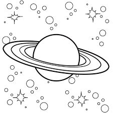 Take a trip to the stars with this outer space coloring sheet, featuring a rocket ship zooming through the solar system. Outer Space Coloring Pages Coloring Home