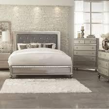 Aurora Champagne 5 PC King Bedroom