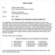 Memorandum Sample Sample Formal Memorandum 5 Documents In Word Pdf