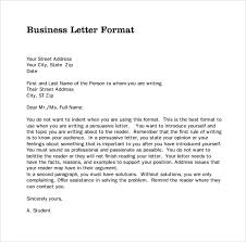 Business Correspondence Letters Examples Business Correspondence Format Scrumps