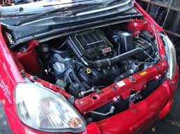 genuine oem toyota vios turbo kit echo yaris xb xd a picture of one of the kits mounted on a 1st gen yaris the diagram