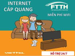ℹ Viettel Quy Nhơn khuyến mãi lắp Internet Cáp Quang và truyền hình viettel